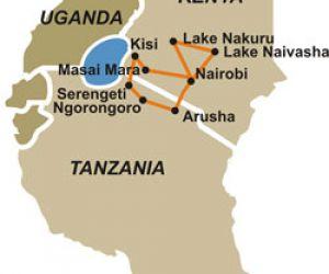 serengeti trekking tours